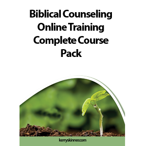 Online Biblical Counselor Training Package - All Six Courses